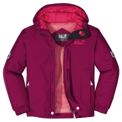 Jack Wolfskin GIRLS HIGHLAND Kinderjacke