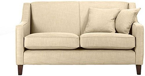 FabHomeDecor Alia Superb Two Seater Sofa (Cream)