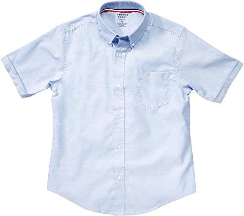 French toast school uniform boys short sleeve oxford shirt for Short sleeve school shirts