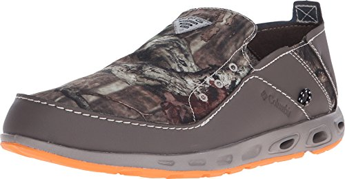 Columbia Men's Bahama Vent Camo PFG Slip-On Casual Moccasins, Camouflage Leather, 13 M (Columbia Bahama Vent Fishing Shoe compare prices)