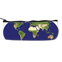 world map Pencil Case Bag