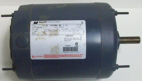 A.O.Smith Magnetek Industrial 3/4Hp 3-Phase Ac Motor 8-141506-03 200-208Vac