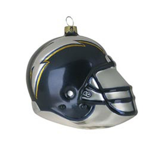 San Diego Chargers Team Glass Helmet Ornament at Amazon.com