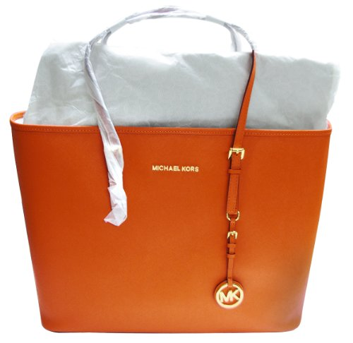 Michael Kors Orange Shoulder Bag 21