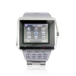 Quad-band GSM Unlocked Wifi Java Watch Mobile Phone 1.5inch Touch LCD 1.3mp Camera Dual SIM Dual Standby Bluetooth Mp3 Mp4