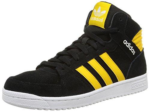 Adidas Pro Play 2 Scarpe sportive, Uomo, Multicolore (Core Black/Super Yellow F15/Ftwr White), Taglia 40.7