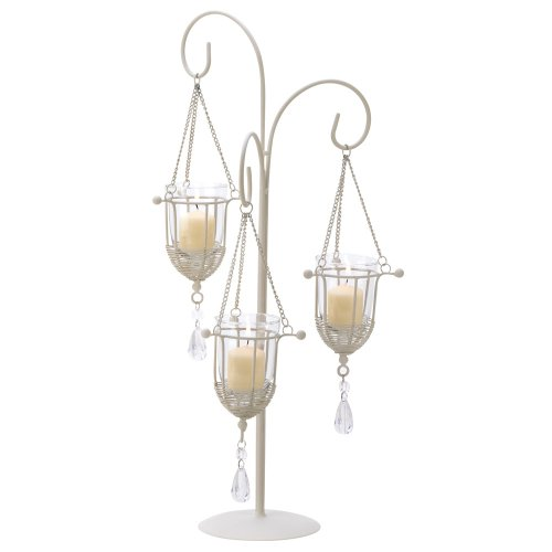 Gifts & Decor Crystal Drop Votive Candle Holder
