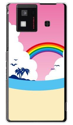 yesno ビーチ (クリア) / for aquos phone sh-06d/docomo dsha6d-pcc