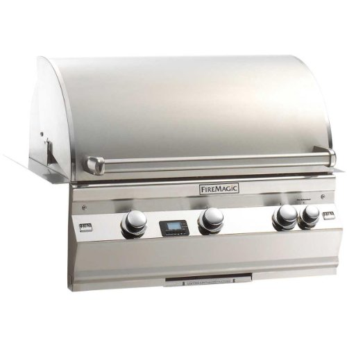 Aurora A540I2E1P Built In Lp Grill With Rotisserie Backburner