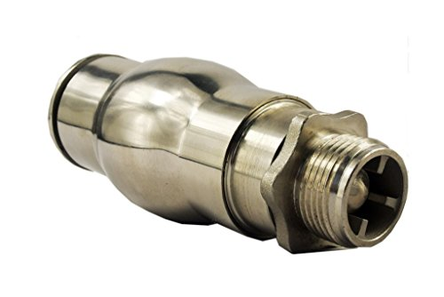 Navadeal quot dn stainless steel foam jet fountain nozzle