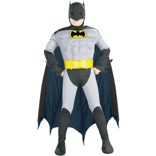 Batman with Muscle Chest Child Costume - Kid's Costumes
