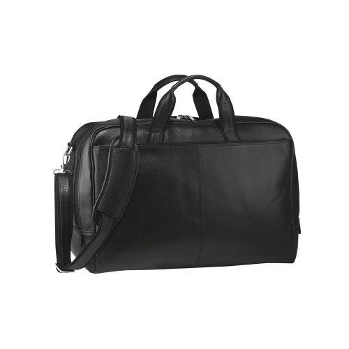 Bodenschatz Leder Reisetasche schwarz