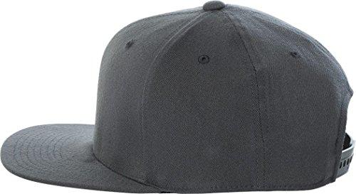 Flexfit Wool Blend Flat Bill Snapback Cap. 110F - Dark Grey 6f3c6e283daf