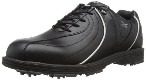 Hi-Tec Men's V-Lite Mission Black/Silver Golf Shoe G001785/021/01 8 UK, 42 EU, 9 US