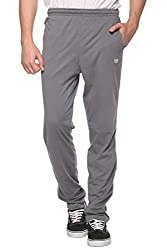 COLORS & BLENDS - M.Grey - Cotton Track Pants with Zipper cross-pocket - Size M