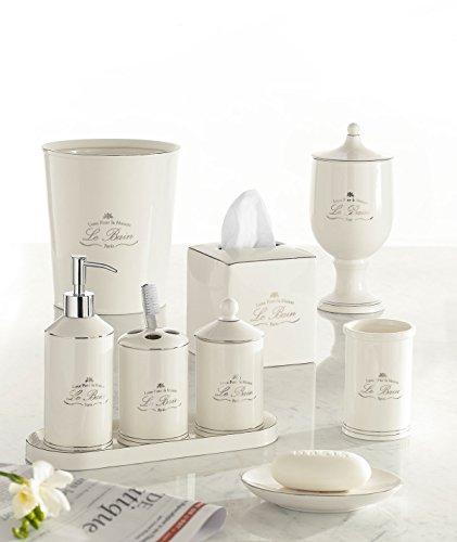 Le Bain Bath Accessories - Cotton Jar Bain Bath
