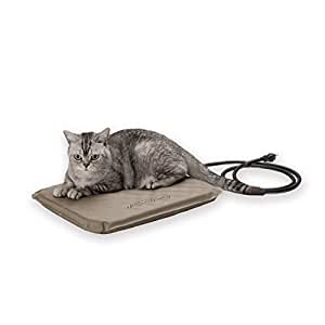 K&H Manufacturing Lectro-Soft Outdoor Heated Bed Small Tan 14-Inch by 18-Inch 20 Watts