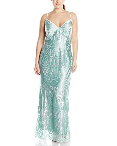 A.B.S. by Allen Schwartz Plus Women's Lace Gown