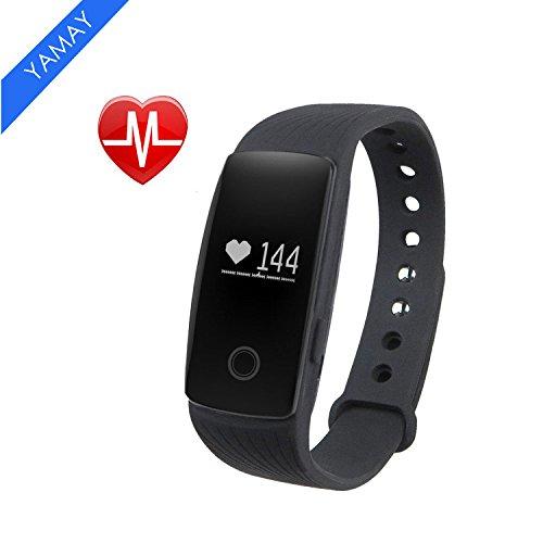 fitness tracker smart armband mit pulsmesser yamay. Black Bedroom Furniture Sets. Home Design Ideas