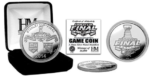 Highland Mint THM-NHL14F5SPK 2014 Stanley Cup Final Silver Game Coin by The Highland Mint