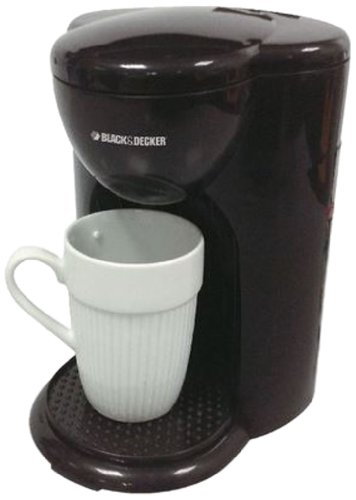 Black & Decker DCM25 1 Cup Coffee Maker, 220V, Black (Black And Decker 220v compare prices)