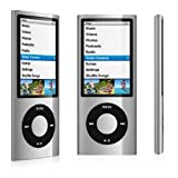 ®Gadget Bay© MP4 & MP3 Scroll 1.8inch Lcd, 5TH Gen, FM Radio -8GB, Silver color (NOT an Apple Ipod Nano-)