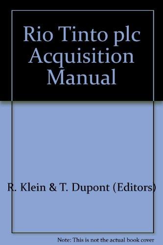 rio-tinto-plc-acquisition-manual