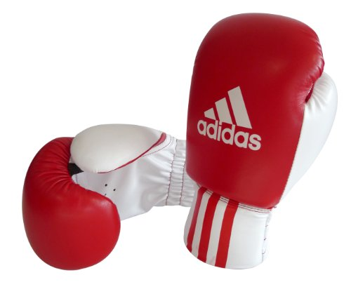 Adidas Rookie Boxing Gloves  Red/White/Black  6oz