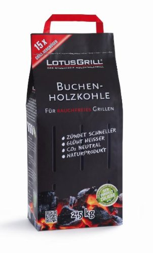 LotusGrill Buchen Holzkohle