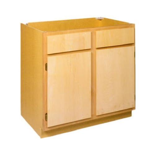 Unfinished Kitchen Base Cabinets: ZEE MANUFACTURING LTD 24 Wide Unfinished Birch Kitchen