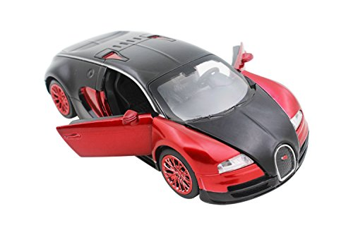 NuoYa001 New style 1:32 Bugatti Veyron Alloy Diecast car model collection light&sound Red (Diecast Car Models compare prices)