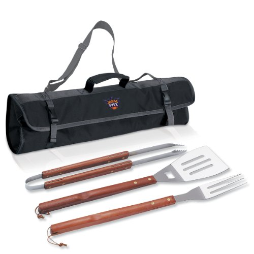 Nba Phoenix Suns 3-Piece BBQ Tool Set With Carry Tote
