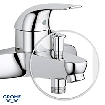 o0omitigeurs de bain grohe robinet robinet chrome 39 salle de bains bains euroeco cuisine. Black Bedroom Furniture Sets. Home Design Ideas