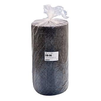 "Spilfyter DB-90 Gray Universal Sorbent MRO Double Weight Absorbent Roll, 150' Length x 32"" Width, 1 per Bag"