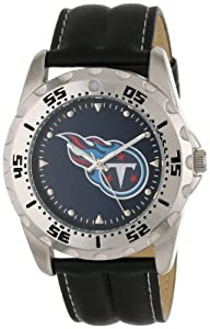 Game Time Mens NFL-WWG-TEN Tennessee Titans Analog Strap Watch and Wallet Set by Game Time