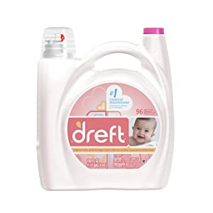 Dreft Concentrated Liquid Detergent 96 Loads 150 Fl Oz