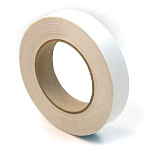 CS Hyde UHMW Polyethylene Rubber Adhesive Tape, Clear 1 inch x 18 yards