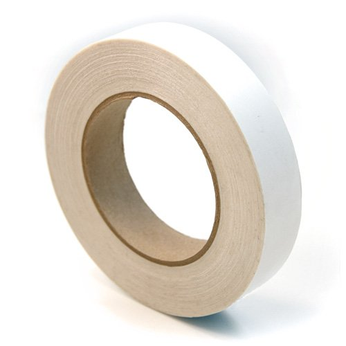 CS Hyde UHMW Polyethylene Rubber Adhesive Tape, Clear 1 inch x 18 yards (Nylon Drawer Slide Tape compare prices)
