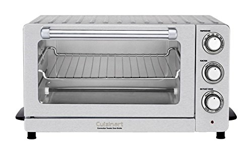 Cuisinart Convection/Toaster Oven Broiler 1500 W 0.6 Cu. Ft., 12 In. Pizza Non-Stick Coating, Stainl (1500 Watt Toaster Oven Broiler compare prices)