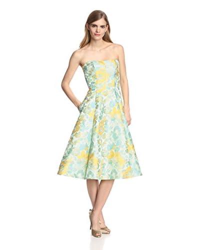A.B.S. by Allen Schwartz Women's Brocade Strapless Dress
