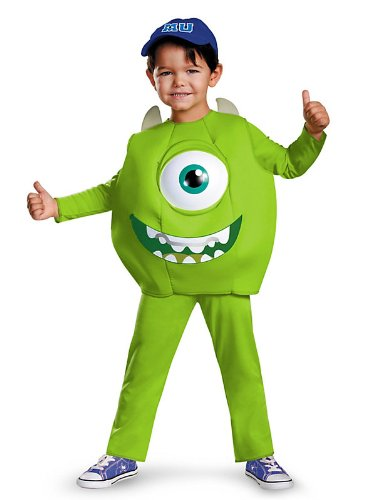 Disguise Disney Pixar Monsters University Mike Toddler Deluxe Costume