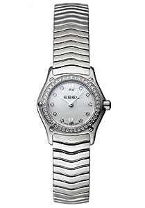 Ebel Damen-Armbanduhr CLASSIC WAVE Analog Quarz 9656F04-9725