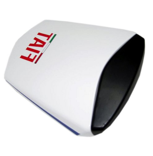Racing Sport Motorcycle ABS Rear Seat Cowl Cover Cowl Fit for YAMAHA R6 03-05 FIAT WHITE (03 R6 Rear Seat Cowl compare prices)