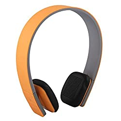Tera Bluetooth Wireless Sports Stereo Headset Earphone Handsfree Headphone LC 8200 for Cell Phone iPhone 6 Plus 5S 5C Samsung S5 4 Note 3 2 iPad Notebook PC Color Orange