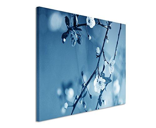 120-x-80-cm-cuadro-de-colour-azul-y-verde-lienzo-sobre-bastidor-en-de-la-mejor-calidad-florecimiento