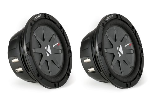 """2) New Kicker 40Cwrt122 12"""" 3200W Shallow/Slim Mount Car Subwoofers Subs Cwrt122"""