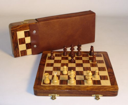 Magnetic 5 folding wood chess collectible board game Where can i buy a chess game