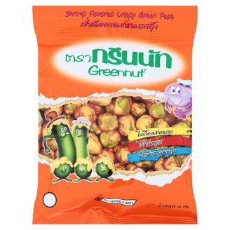 Greennut : Crispy Green Pea Coated Shrimp Flavour 1.41 Oz. Best Seller Of Thailand