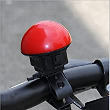UFO Shape Bicycle Electronic Horn Bicycle Mini Bell With Batteries