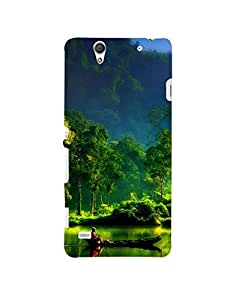 Aart Designer Luxurious Back Covers for Sony C4 by Aart Store.